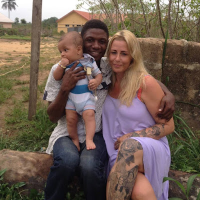 Meet the Nigerian Man that's Married to Akwa Ibom 'Witch' Baby Rescuer, Anja Ringgren Loven (Photos)
