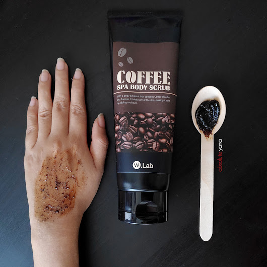 De-stress and Refresh With W.Lab Coffee Spa Body Scrub