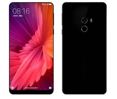 Xiaomi Mi MIX 2 rumored to feature curved AMOLED display with 93% screen-to-body ratio