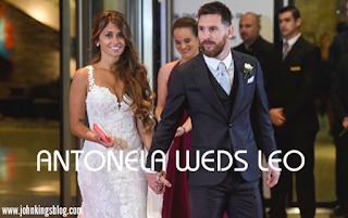 Lionel Messi wedding pictures. Lionel messi and wife Antonela