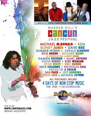 festival de jazz cancún 2018