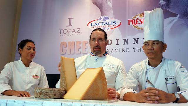 Yubira Hudault, Xavier Thuret et chef Pov Sopheak