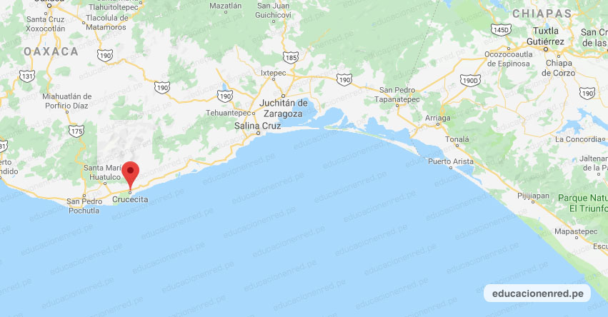 Temblor en México de Magnitud 4.2 (Hoy Martes 28 Julio 2020) Sismo - Epicentro - Crucecita - Oaxaca - OAX. - SSN - www.ssn.unam.mx