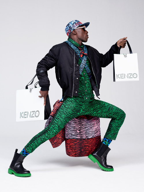Eniwhere Fashion - News on Fashion - Kenzo x H&M