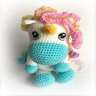 Patrón Crochet Amigurumi Unicornios 2x1 Inglés - $ 40,00 en ... | 320x320