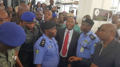 Senator Omo-Agege Arrested By Police
