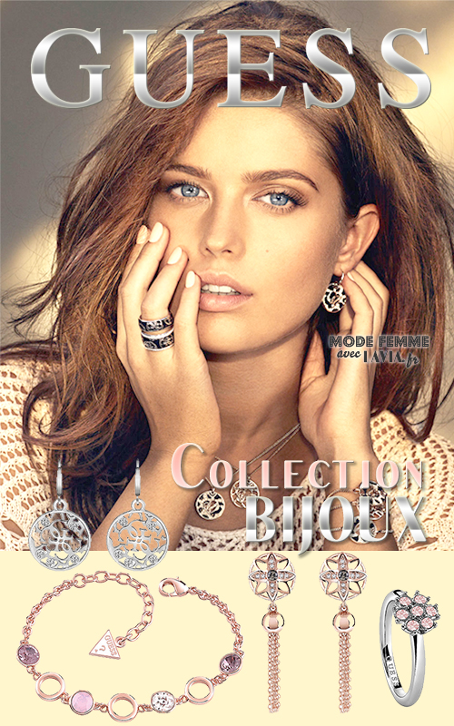 Nouvelle collection de bijoux GUESS 2016