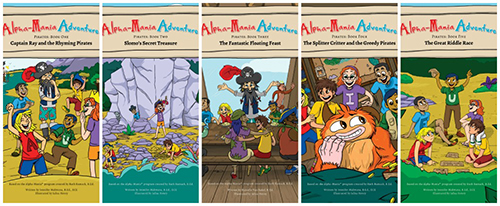 Alpha-Mania Adventures Series ~ #Review #Giveaway #2016GiftGuide