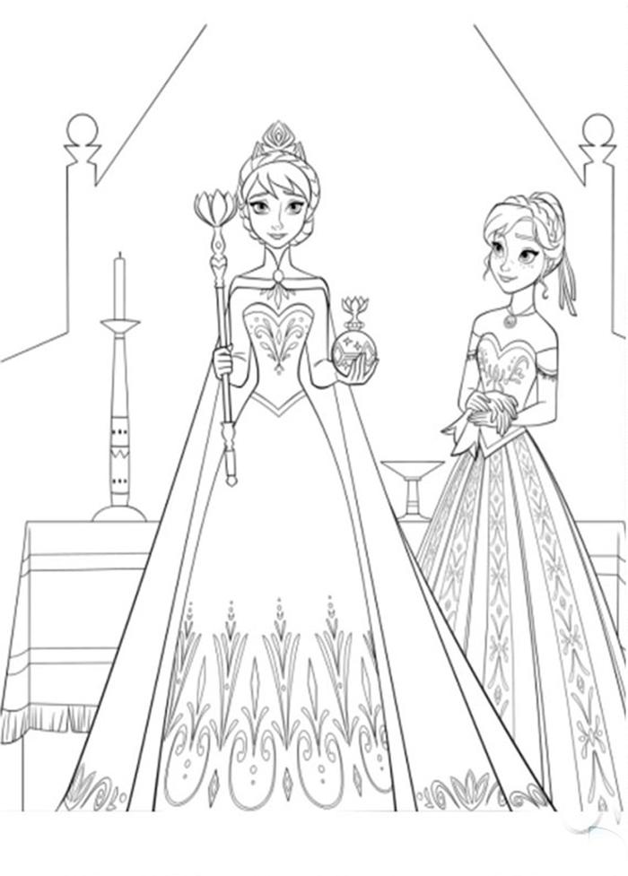 Hình ảnh Elsa chibi