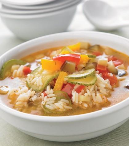 Cocina facil y rapido sopa de verduras y arroz - Cocinar facil y rapido ...