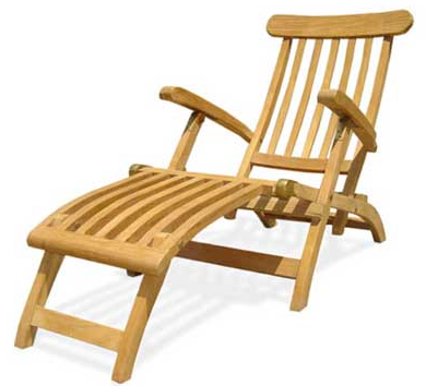model kursi malas kayu jati