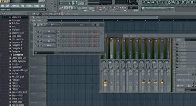 Cara membuat untuk lagu pemula di frutyloop studio