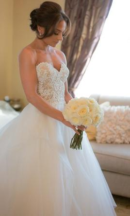 Reem Acra Wedding Dress Used