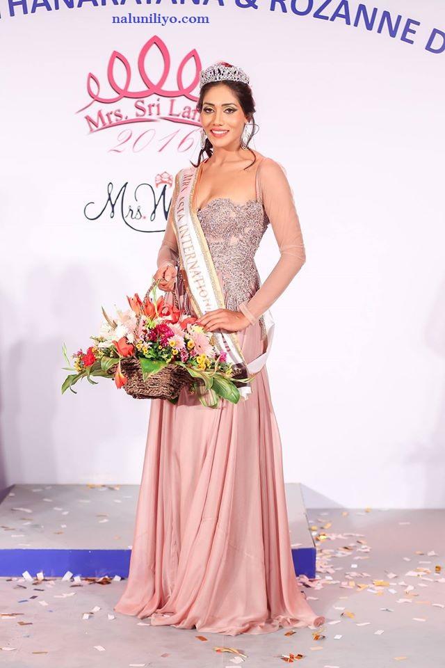 Mrs. Sri Lanka for Mrs. Asia 2016 lakmali madugala
