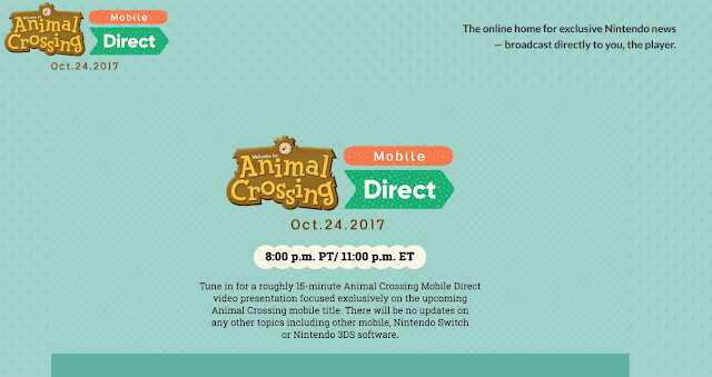 Animal Crossing Mobile Pocket Camp Direct message preview Nintendo