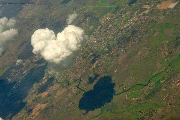 15 Amazing Pictures of Natural Heart Symbol around the World