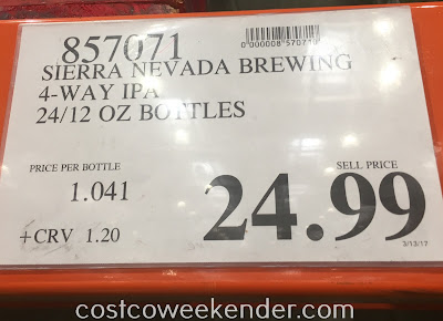 Deal for the Sierra Nevada 4-way IPA Mixed Pack at Costco