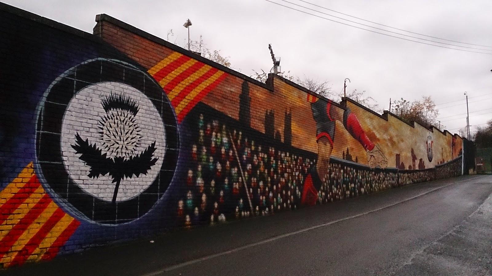 Glasgow punter street art glasgow murals with 23 2 for Mural alternatywy 4