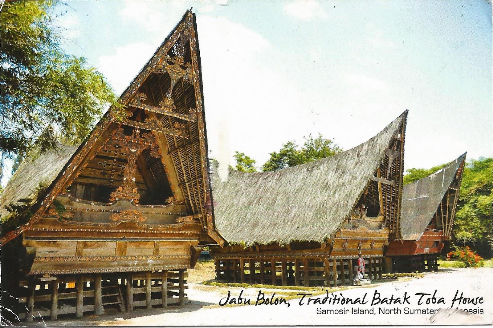 Batak Toba Houses