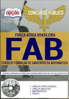 baixar Apostila Concurso FAB 2018 PDF Download