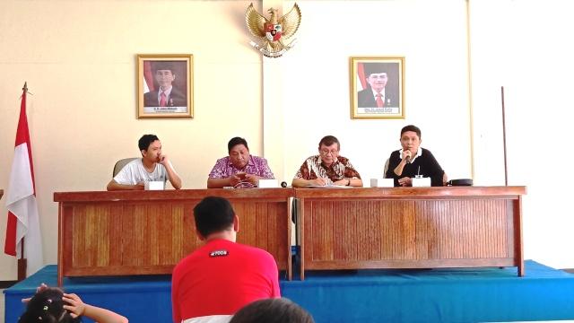 DPD RI, Forward Dan Alumni UGM Di Sulut Lakukan Diskusi Akhir Tahun