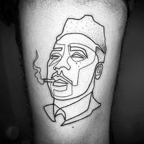 line tattoo designs for men   Tattoo Designs 2019