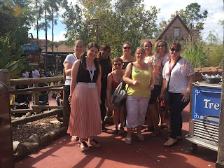 Bumping into more of our team at the Big Thunder Mountain Railroad with Keila Kalva and Sam Hammond