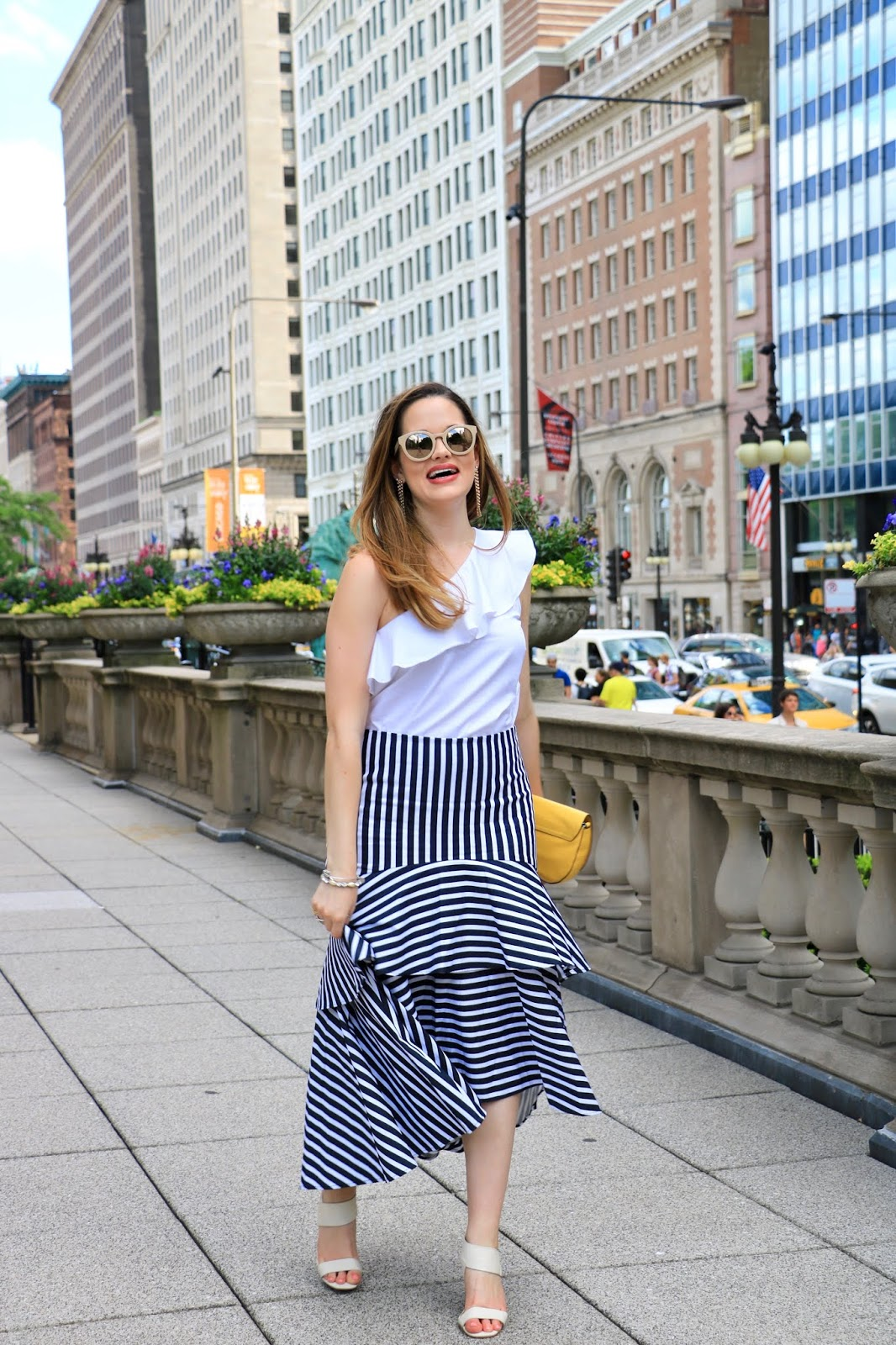 Nyc fashion blogger Kathleen Harper's summer date night outfit