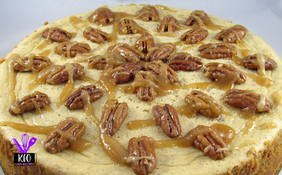 creamy and rich maple pecan cheesecake a perfect treat