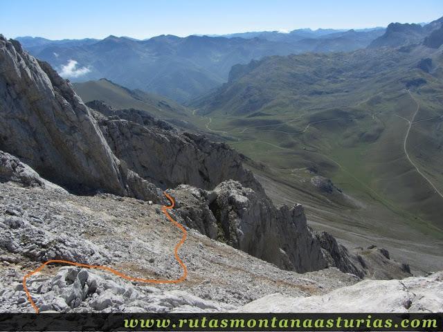 Ruta Canal Grajas y Covarones Cortes: Descendiendo de la cima del Cortés