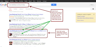 Search Engine Result Page (SERP)