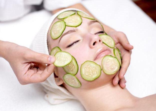 perawatan wajah dengan mentimun