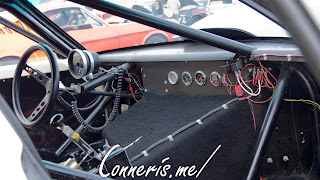 Ford 545 Rice Rocket Dragster dashboard