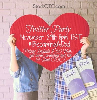 Stork OTC twitter party
