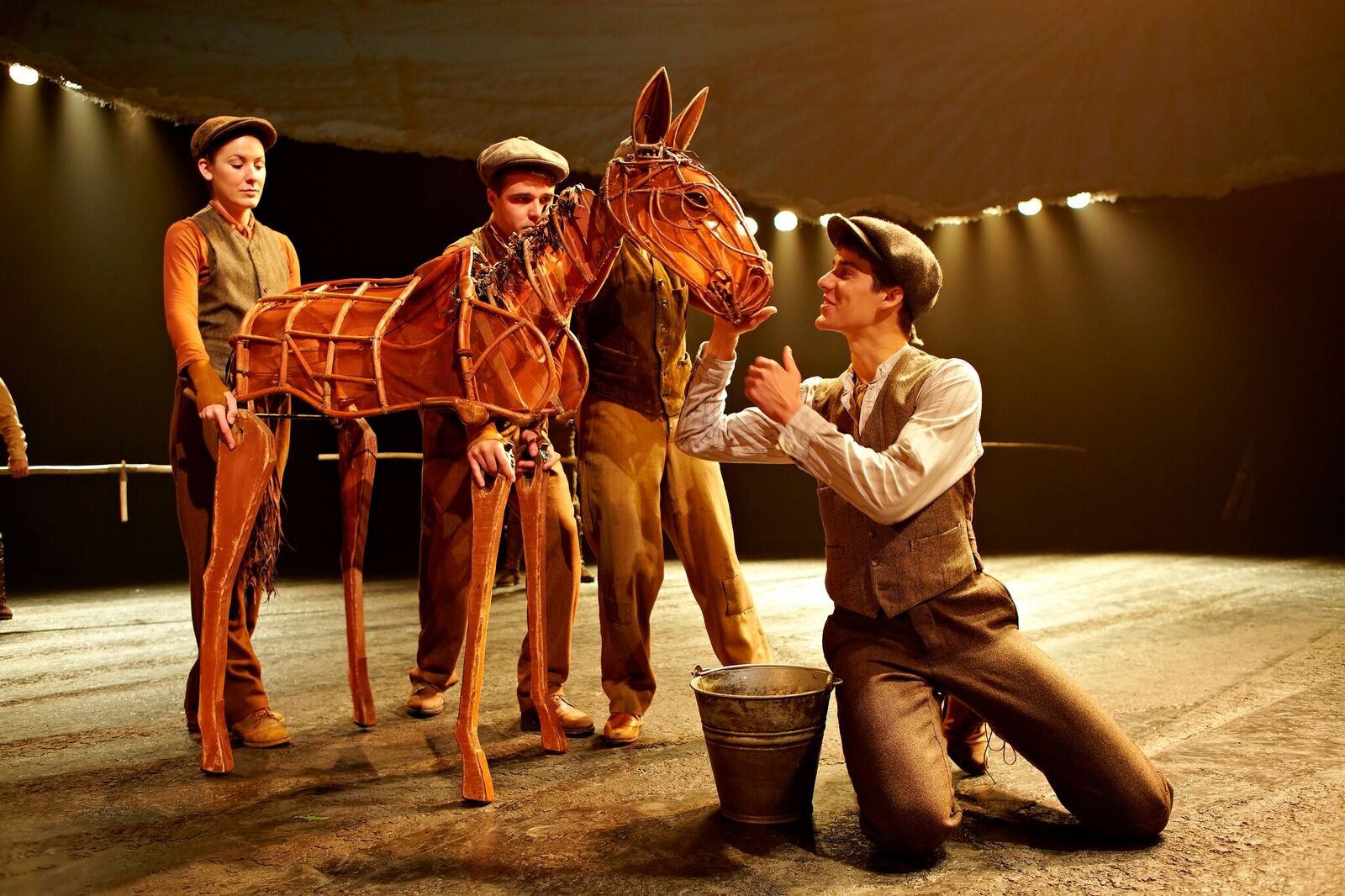 War Horse | Sunderland Empire 2019 - War Horse as a foal