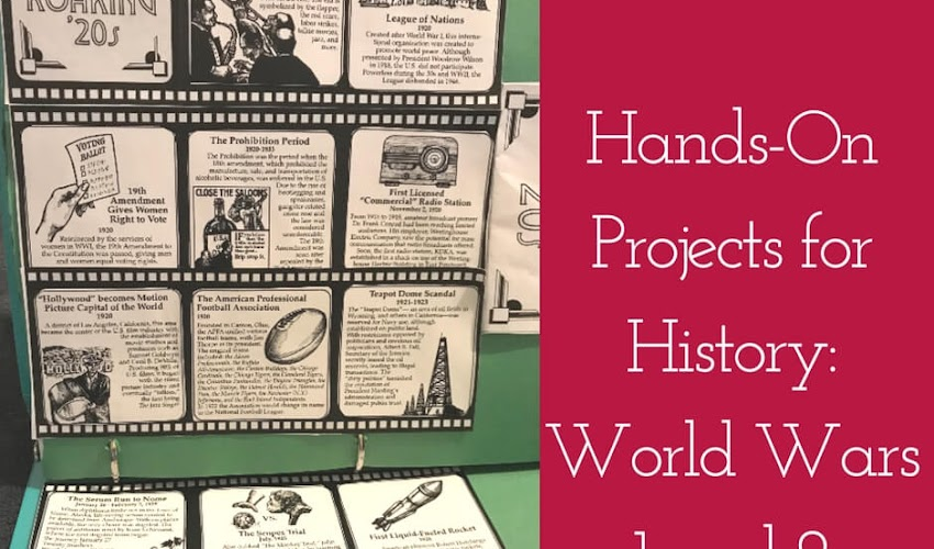 Hands-on History Projects:  Learning About the World Wars