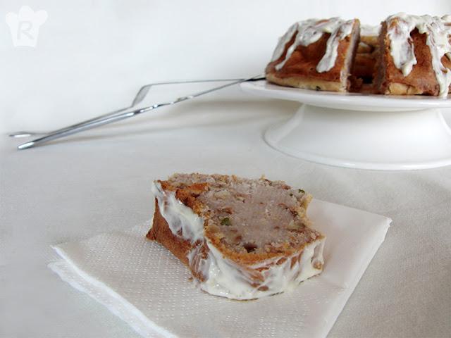 Bundt cake de salmón ahumado