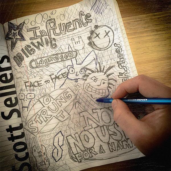 "Scott Sellers (Rufio) stream new album ""Influence"""