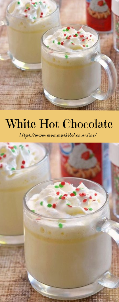 White Hot Chocolate #drinks #recipeeasy