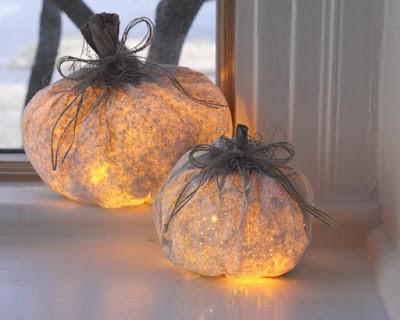 lanterne romantiche a forma di zucche