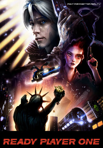 Ready Player One 2018 English BRRip 720p | 1GB | 480p | 400MB Poster