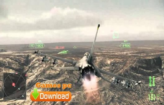 تحميل لعبة الطائرات الحربية ace combat assault horizon للكمبيوتر