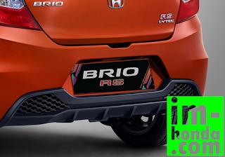 kredit new honda brio rs (REAR BUMPER)
