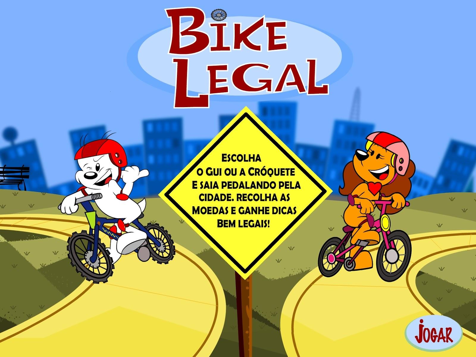 Iguinho: Jogo Bike Legal