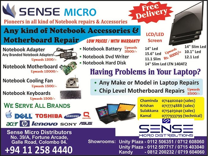 Any kind of Notebook Accessories and Motherboard Repair.