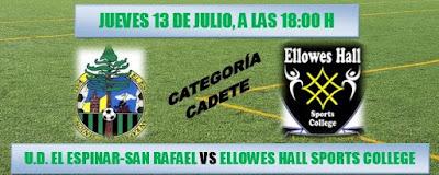 Jornada de Fútbol Internacional de la UD El Espinar San Rafael
