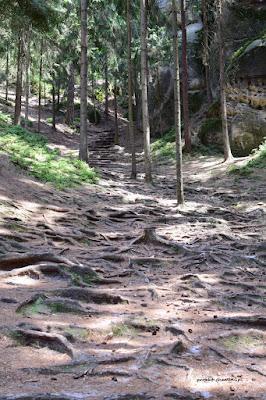 Hruboskalsko szlak od źródeł do symbolicznego cmentarza
