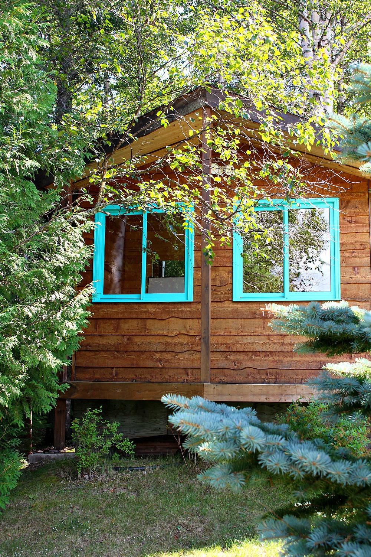 Turquoise House Trim