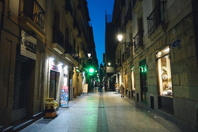 サン・セバスティアン旧市街
