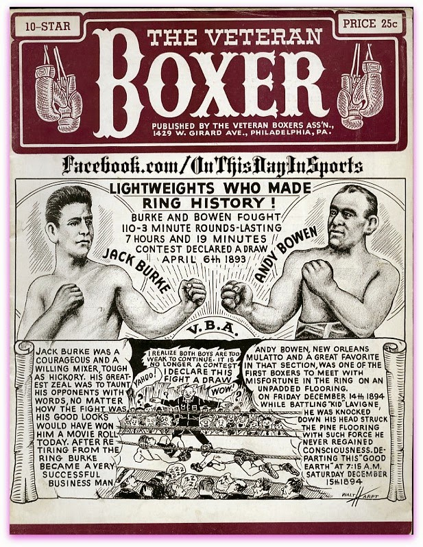 Image result for Andy Bowen vs. Jack Burke